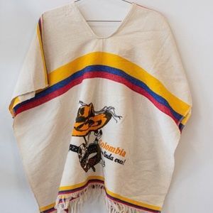 Other - VINTAGE Columbia Novelty Poncho